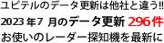 ユピテルのデータ更新は他社と違う!!