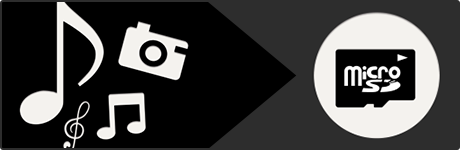 microSDカードを使って、ナビで音楽・動画や写真を楽しむ